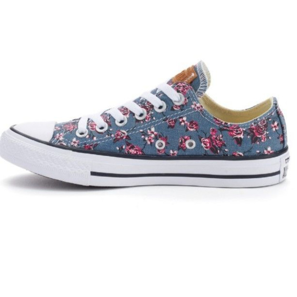 bd1af30243a Converse Other - CONVERSE CHUCK TAYLOR ALL STAR DENIM FLORAL SHOES